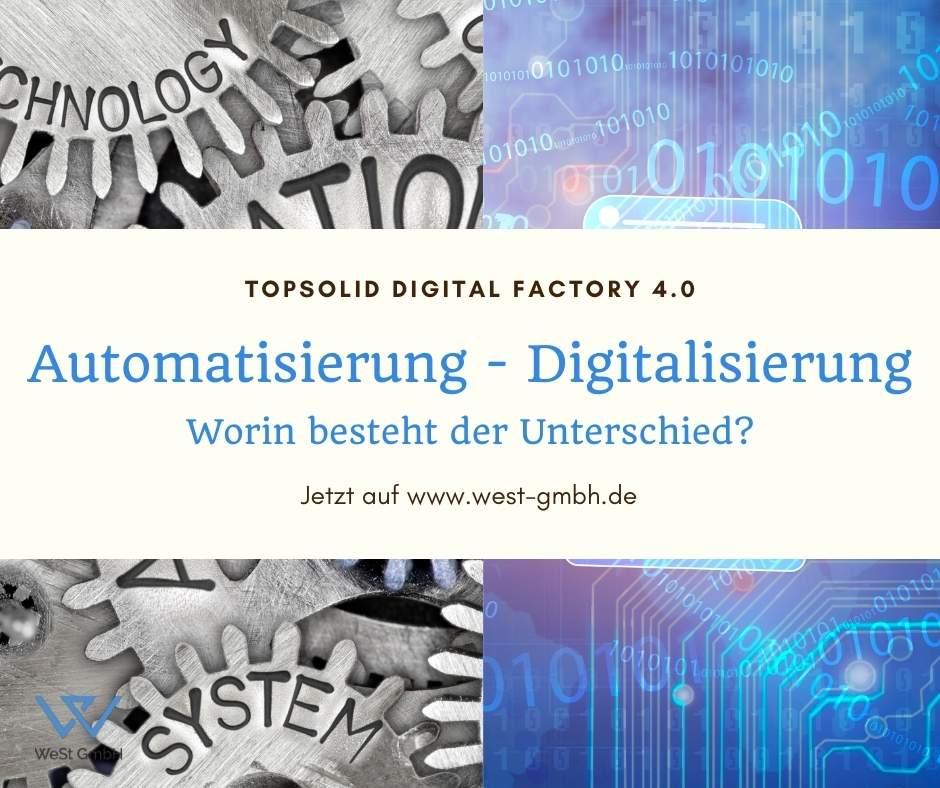 Digitalisierung - Automatisierung: Worin besteht der Unterschied?