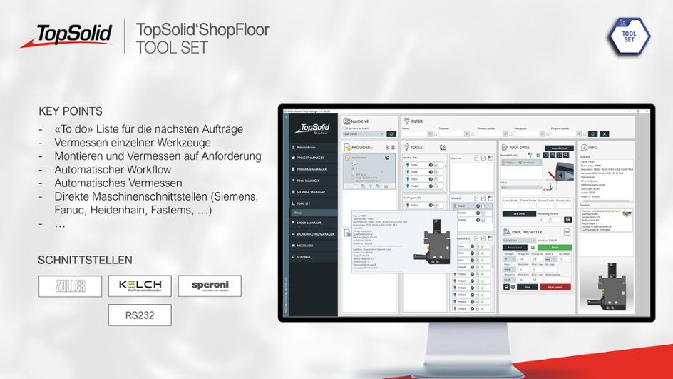 ShopFloor Tool Set