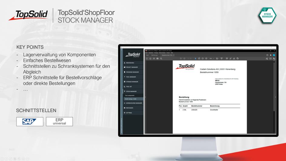 ShopFloor Stock Manager