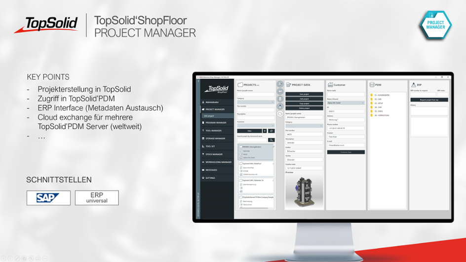 ShopFloor Project Manager