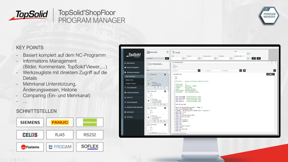 ShopFloor Program Manager