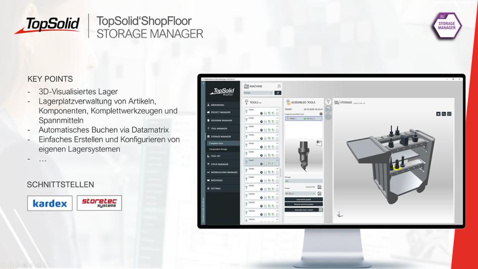 ShopFloor Storage Manager